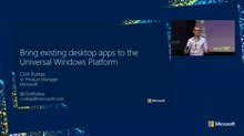 Bringing existing desktop apps to the Universal Windows Platform (Project Centennial)