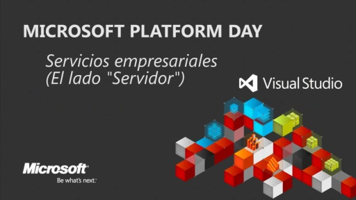 Microsoft Platform Day: Enterprise Services