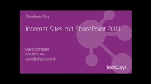 Internet Sites mit SharePoint 2013