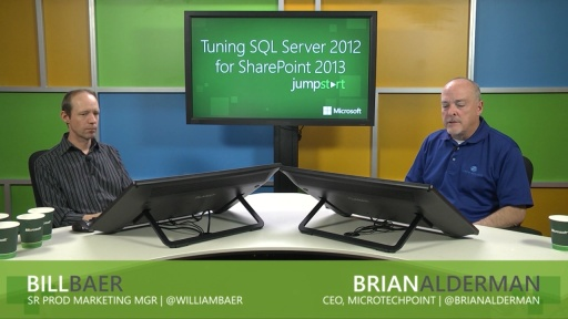 Tuning SQL Server 2012 for SharePoint 2013: (03) Server Settings for SQL Server