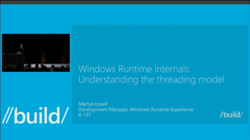 Windows Runtime Internals: Understanding the Threading Model