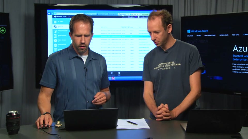 Using Azure Web Site Logging and Diagnostics - with David Ebbo