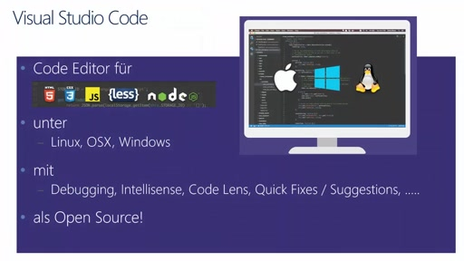 Visual Studio in 5 Minuten – Visual Studio Code