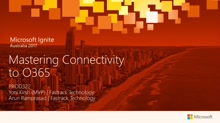 Mastering Connectivity to Office 365