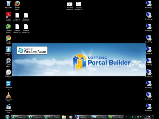 Prueba de carga con Windows Azure. Softeng Portal Builder