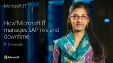 How Microsoft IT Manages SAP Risk and Downtime