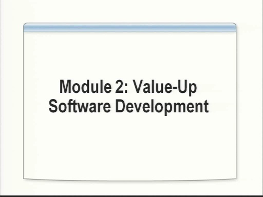 VS2008 Training Kit: Value-up software development