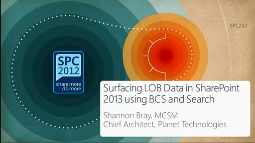 Surfacing LOB Data in SharePoint 2013 using BCS and Search