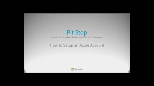 How to setup an Azure Account