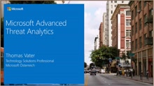 Advanced Threat Analytics Webcast inklusive Demo