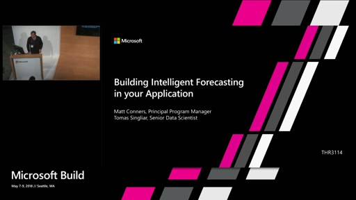 Building Intelligent Forecasting in your Application