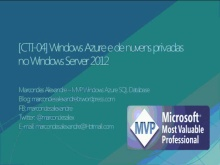 Windows Azure e nuvens privadas no Windows Server 2012