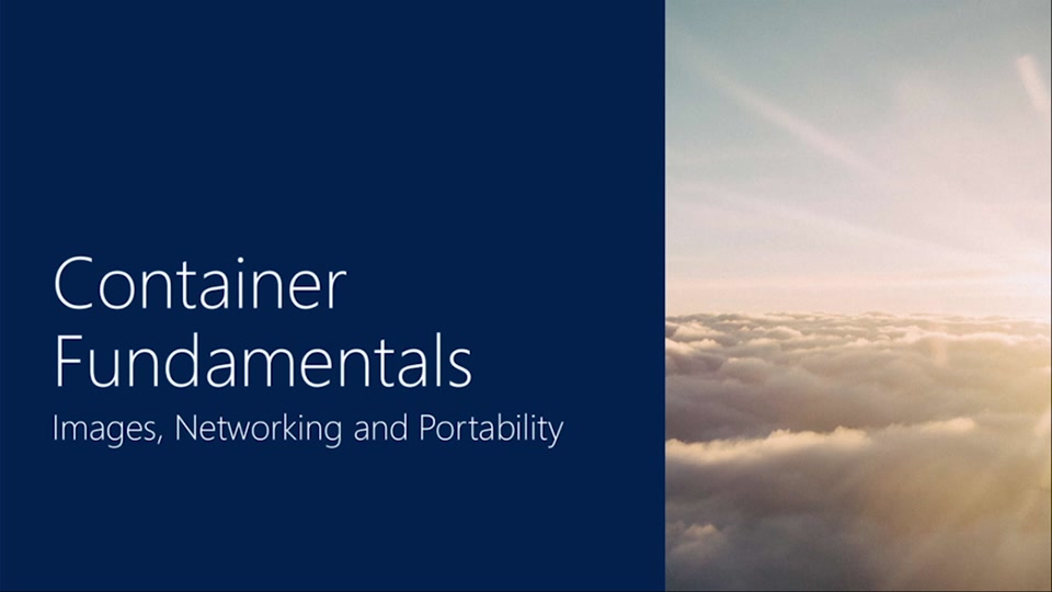Container Fundamentals   Part 2 - Images, Networking & Portability