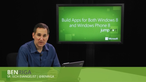 Building Apps for Both Windows 8 and Windows Phone 8: (03) Model-View-ViewModel