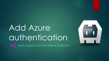 Azure connected services - task 8: Azure authentication