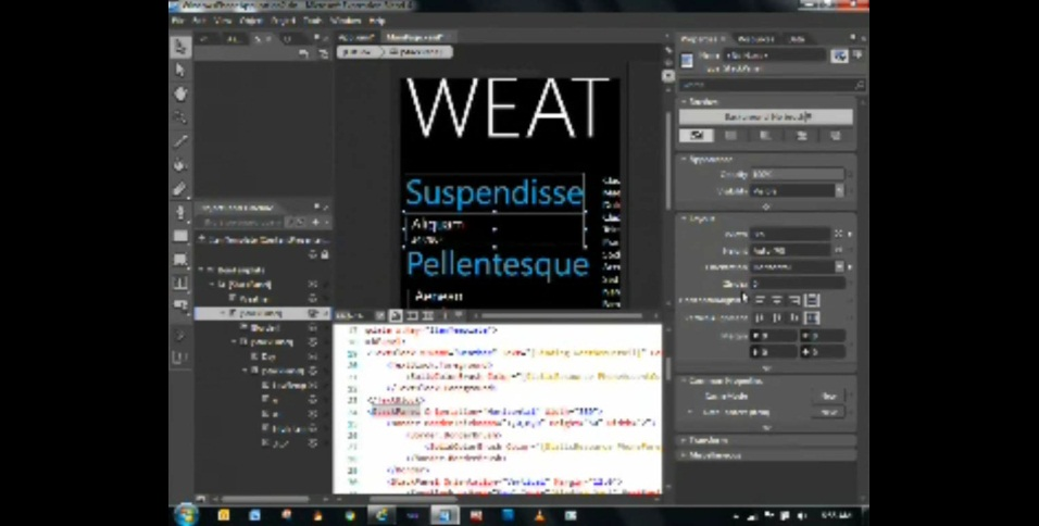 BUILD. Make it XAML with Expression Blend – Windows Phone Apps.