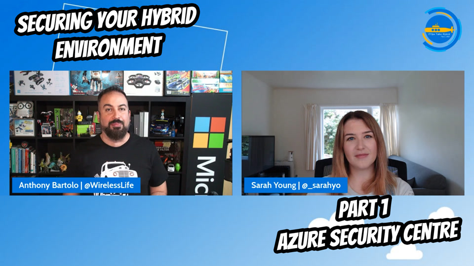 OPS101 - Securing your Hybrid environment - Part 1 - Azure Security Center