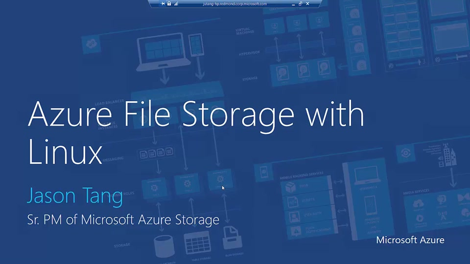 Azure File Storage with Linux