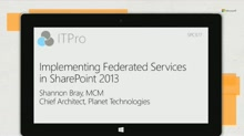 Implementing federated (cross-farm) services in SharePoint 2013