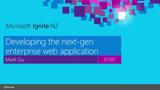 Developing the next-gen enterprise web application