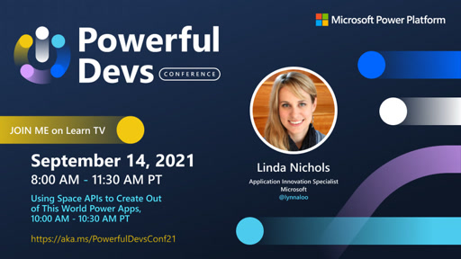 Using Space APIs to Create Out of This World Power Apps with Linda Nichols