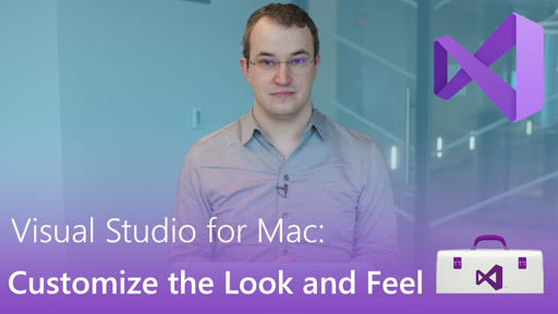Visual Studio for Mac: Customize the Look and Feel