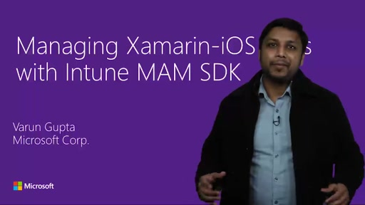 Building secure mobile apps with the InTune SDK and Xamarin
