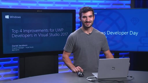 Top 4 Improvements for UWP Developers in Visual Studio 2017