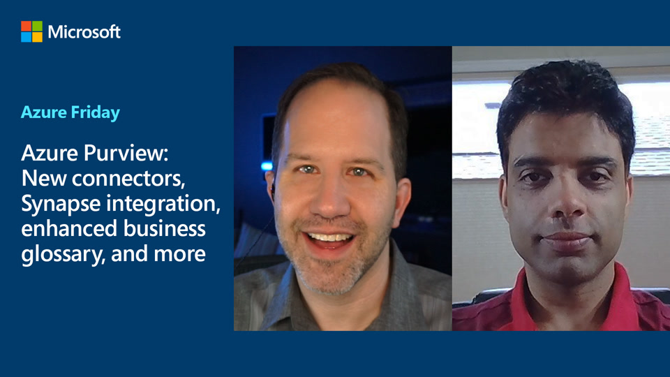 Azure Purview: New connectors, Synapse integration, enhanced business glossary, and more