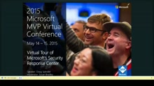 CONS Track Day2- Virtual Tour of Microsoft's Security Response Center