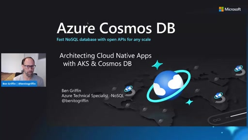 Architecting Cloud Native Apps with AKS and Cosmos DB
