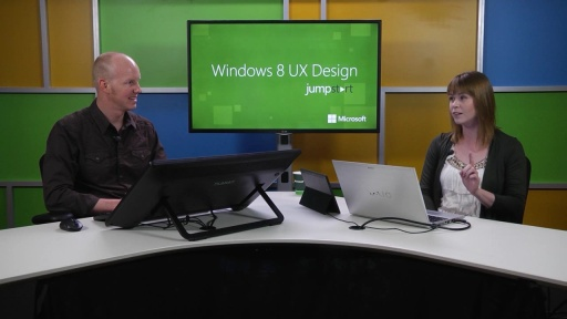 Windows 8 UX Design: (06) Snap and Scale Beautifully