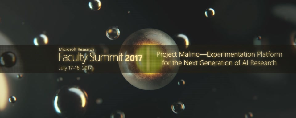 Video Abstract: Project Malmo – Experimentation Platform for the Next Generation of AI Research