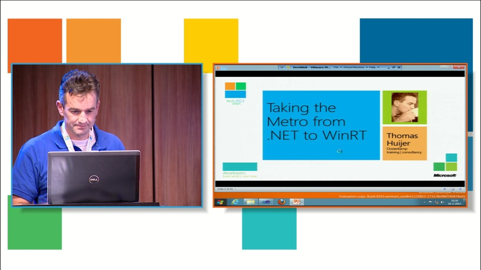 Taking the Metro from .NET to WinRT