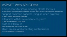 RaghuRam Takes a Second Lap Around ASP.NET Web API and OData