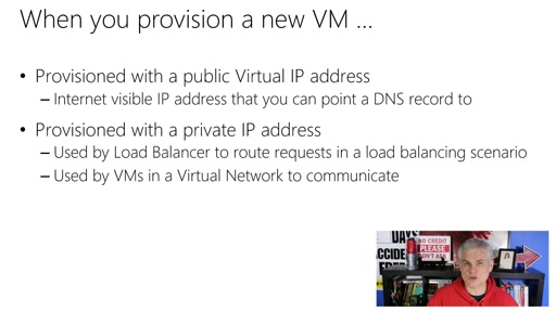 Microsoft Azure Fundamentals: Virtual Machines: (11) Understanding Virtual IP and Reserved IP Addresses