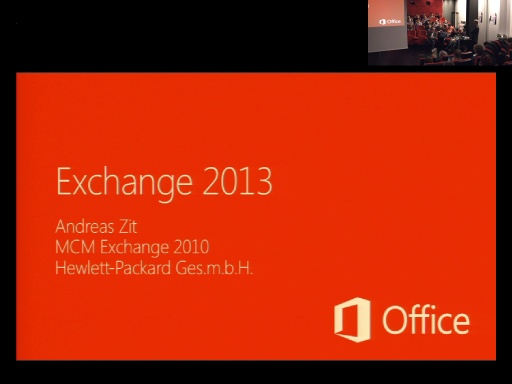 Katapult.07: Die neue Office Plattform - Deep Dive - Exchange 2013 und Exchange Online