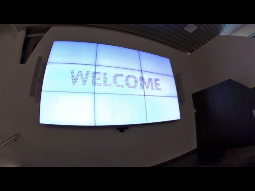 TechWow Video Wall at Microsoft Switzerland