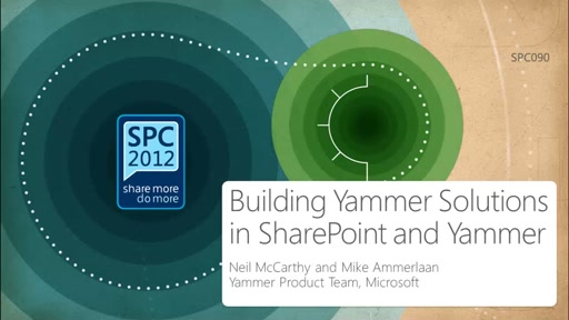 Developing Yammer solutions for Office and SharePoint