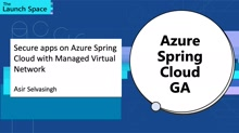 Secure apps on Azure Spring Cloud with Managed Virtual Network