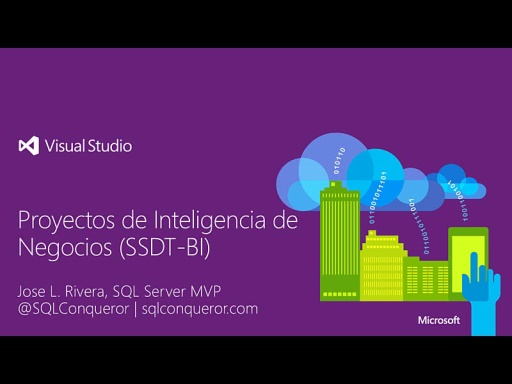 #100devdays Desarrollo de BI en Visual Studio (SSDT-BI)