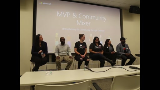MVP Community Mixer Diversity Panel