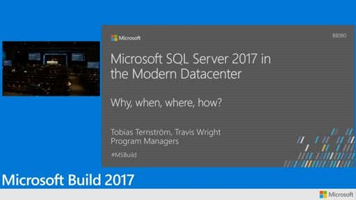 Microsoft SQL Server 2017 in the modern datacenter: how to run on Linux, Docker, OpenShift, and Kubernetes