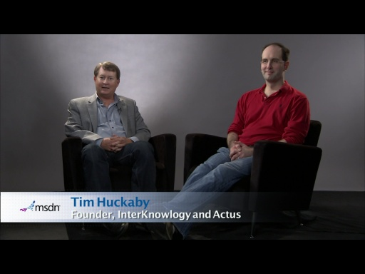 Bytes by MSDN: Scott Guthrie and Tim Huckaby discuss New Features in Visual Studio 11 Dev Preview