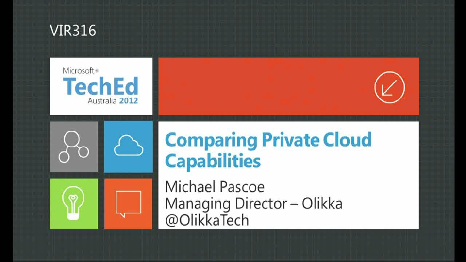 Comparing Private Cloud Capabilities