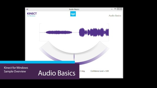 Kinect For Windows Audio Basics Video