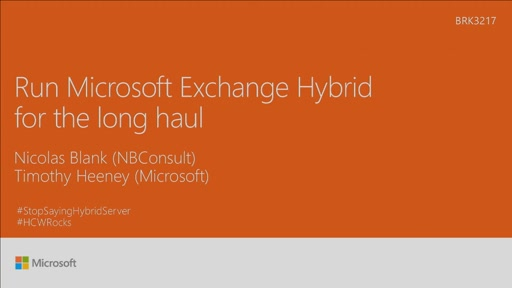 Run Microsoft Exchange Hybrid for the long haul