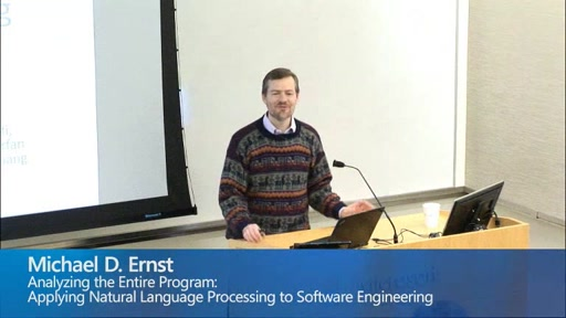 Analyzing the Entire Program: Applying Natural Language Processing to Software Engineering