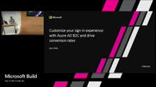 Increase customer conversion rates by customizing your Sign In Experience with Azure AD B2C