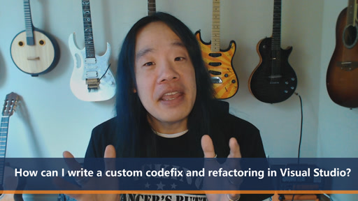 How can I write a custom codefix and refactoring in visual studio? | One Dev Question